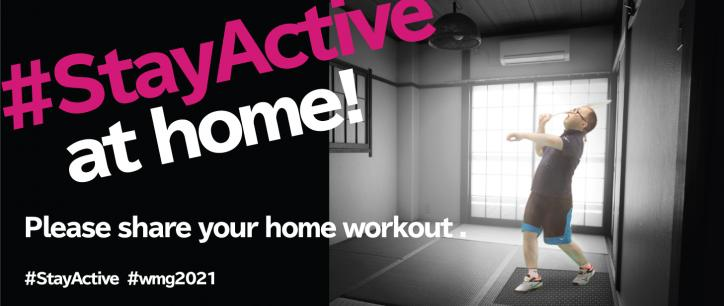 """#StayActive"" project started!"